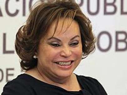 Elba Gordillo Morales era a poderosa líder do sindicato dos professores mexicanos Foto: BBCBrasil.com