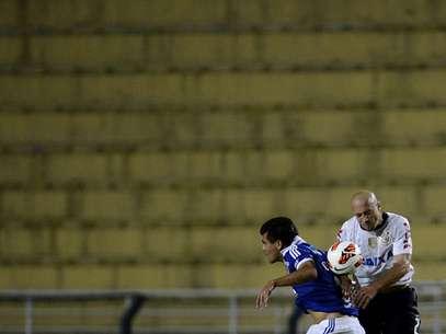 Corinthians jogou sem o tradicional apoio da torcida no Pacaembu Foto: Ricardo Matsukawa / Terra