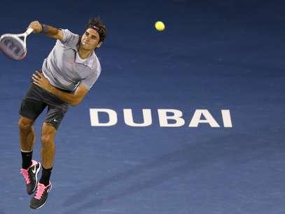 Federer encara Berdych na semifinal do ATP 500 de Dubai Foto: Reuters