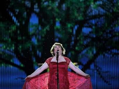 Susan Boyle já está preparando seu novo álbum, mas seu lançamento foi adiado Foto: Carlos Barria / Reuters
