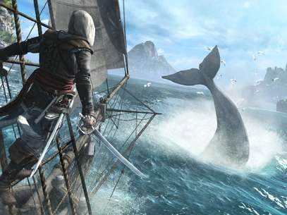 Peta havia se pronunciado contra à caça às baleias em 'Assassin's Creed IV: Black Flag' Foto: Ubisoft / Divulgação