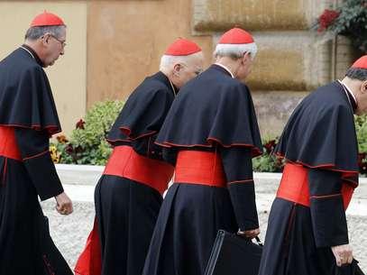Religiosos reunidos no Vaticano ainda esperam a chegada de dois cardeais Foto: Reuters