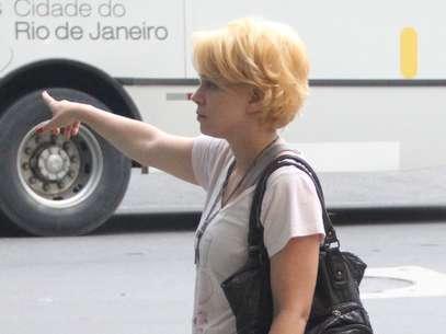 Leandra Leal está loiríssima para viver novo personagem Foto: AgNews