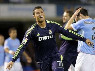 Cristiano Ronaldo marcou duas vezes e garantiu a vitória do Real Madrid Foto: EFE