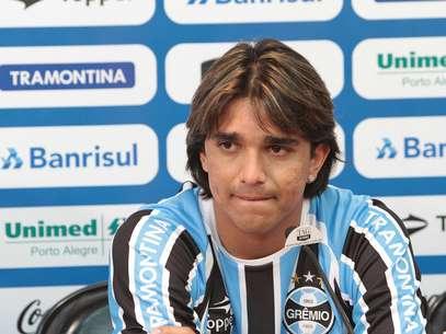 Marcelo Moreno vive situação delicada no Grêmio Foto: Itamar Aguiar/Grêmio FBPA / Divulgação