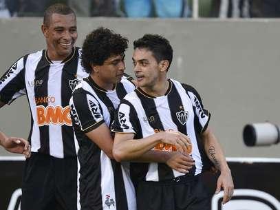 Josué marcou seu gol na estreia pelo Atlético-MG Foto: Pedro Vilela/Agência 17 / Futura Press