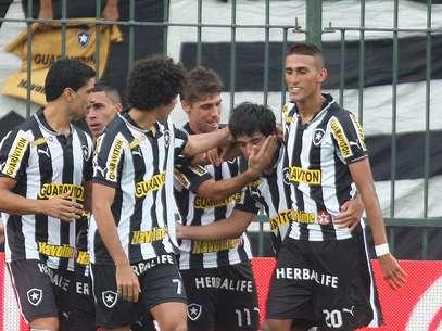 Botafogo vai enfrentar o Resende e terá vantagem do empate Foto: Paulo Sérgio / Agência Lance
