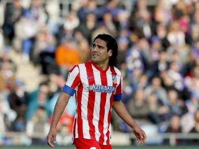 Falcao García troca o Atlético de Madrid pelo Monaco Foto: EFE