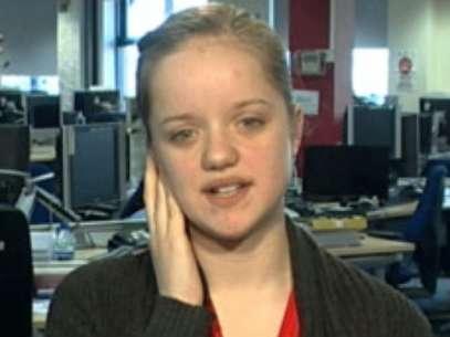 A menina já fez vários exames mas ainda não descobriu a causa dos soluços Foto: BBCBrasil.com