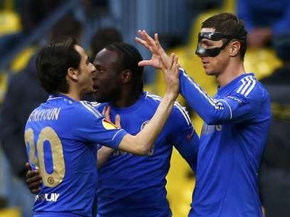 Fernando Torres abriu o placar para o Chelsea  Foto: Reuters