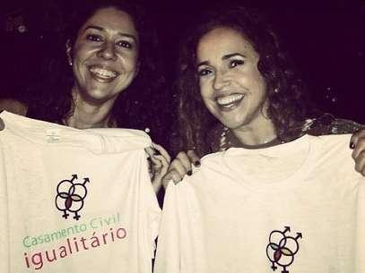 Daniela Mercury namora Malu Verçosa Foto: Instagram / Reprodução