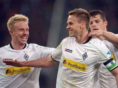 Vitória por 1 a 0 manteve sonho de Liga Europa para o Monchengladbach  Foto: EFE