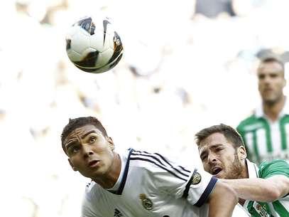 Casemiro é oficialmente jogador do Real Madrid Foto: EFE