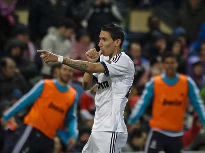 Di María foi o destaque do Real Madrid Foto: EFE