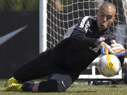 Julio Cesar foi relacionado por Tite para jogo com Santos Foto: Daniel Augusto Jr./Agência Corinthians / Divulgação