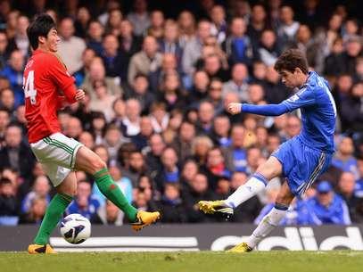 Brasileiro Oscar balançou as redes contra o Swansea Foto: Getty Images