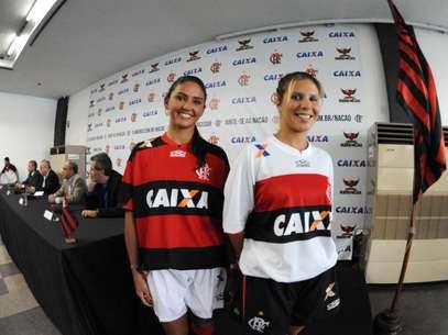 O valor é R$ 5 milhões a menos do que o Corinthians recebe do mesmo patrocinador Foto: Alexandre Vidal/Fla Imagem / Divulgação