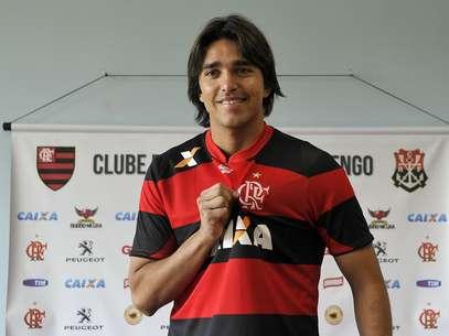 Moreno afirmou que o Flamengoestá formando um elenco bom Foto: Fabio Castro/Agif / Gazeta Press