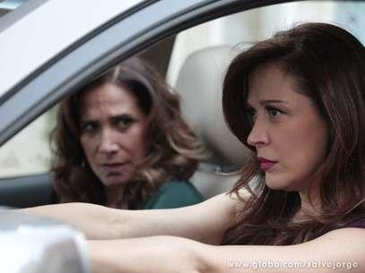 Lívia e Wanda vão estar no mesmo presídio Foto: TV Globo / Divulgação