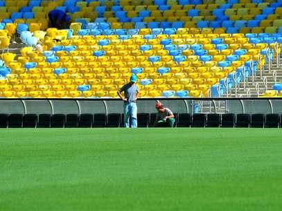 Justiça havia suspendido a partida no Maracanã por falta de segurança no estádio Foto: Daniel Ramalho / Terra