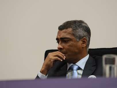 Romário viu suas acusações contra a FPF serem confirmadas Foto: Fábio Rodrigues Pozzebom / Agência Brasil