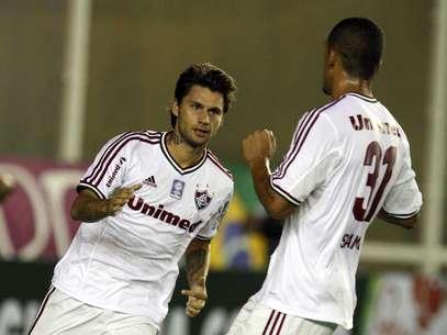 Com um gol e uma assistência, Rafael Sóbis foi decisivo em vitória Foto: Ricardo Ayres / Photocamera