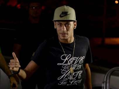 Neymar ainda não tem definido qual número usará no Barcelona Foto: Ricardo Matsukawa / Terra