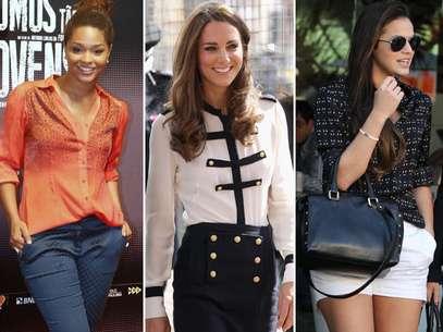 As camisas caíram nas graças das celebridades brasileiras e internacionais Foto: Getty Images / AgNews