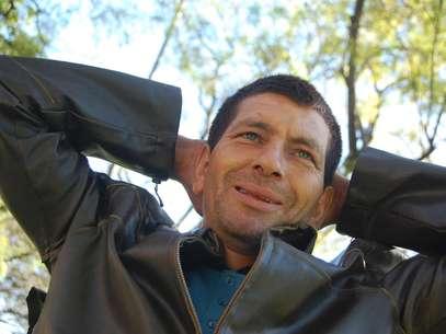 Apesar de morar na rua, Loreni diz que é feliz Foto: Tiago Lobo / Especial para Terra