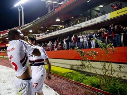 Carleto já tinha um gol no Campeonato Brasileiro, marcado contra o Vasco no Morumbi Foto: Bruno Santos / Terra
