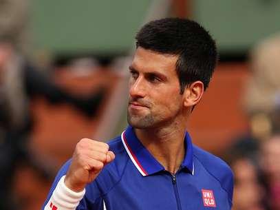 Djokovic venceu nesta quinta-feira Foto: Getty Images