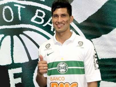 Escudero teve pena reduzida no Coritiba Foto: Divulgação
