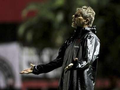 Autuori tinha acordo com jogadores sobre boicote Foto: Eduardo Martins/A Tarde / Futura Press