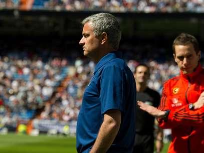 Mourinho fez sua última partida no comando do Real Madrid Foto: Getty Images