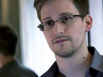 Edward Snowden, em foto divulgada pelo jornal britânico The Guardian Foto: The Guardian / AP