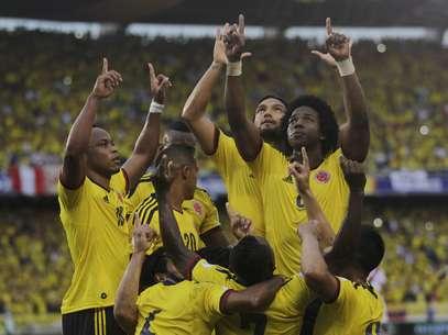Colômbia venceu Peru pelas Eliminatórias Foto: Reuters