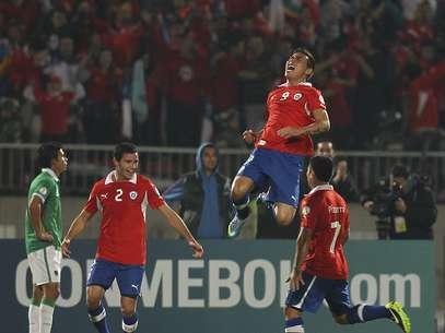 Chile venceu Bolívia e ficou em terceiro Foto: Getty Images