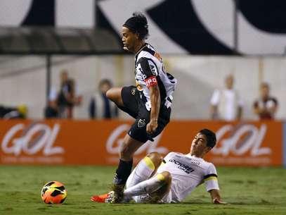 Ronaldinho é peça importante do Atlético-MG, que está nas semifinais da Copa Libertadores Foto: Ricardo Saibun/ Santos FC / Divulgação