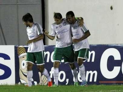 Palmeiras ocupa a terceira colocação na Série B, que para por um mês para a Copa das Confederações Foto: Nuno Guimarães/STR / Gazeta Press
