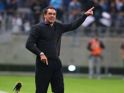 Técnico deixou clube gaúcho na manhã deste sábado Foto: Lucas Uebel/Grêmio FBPA / Divulgação