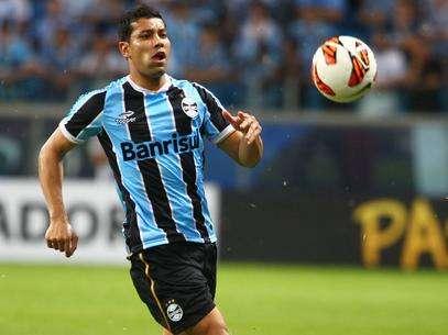 André Santos teve passagem rápida pelo Grêmio Foto: Lucas Uebel/Grêmio FBPA  / Divulgação