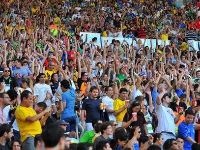 Final no Maracanã não deve estar toalmente lotada Foto: Daniel Ramalho / Terra