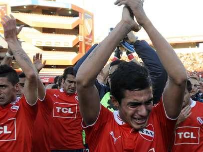 Independiente nunca tinha sido rebaixado no Argentino Foto: AFP