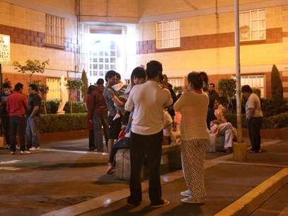 Terremoto foi sentido na Cidade do México e deixou moradores assustados Foto: EFE
