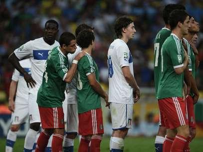Partida México x Itália foi a primeira do estádio carioca na Copa das Confederações Foto: Daniel Ramalho / Terra