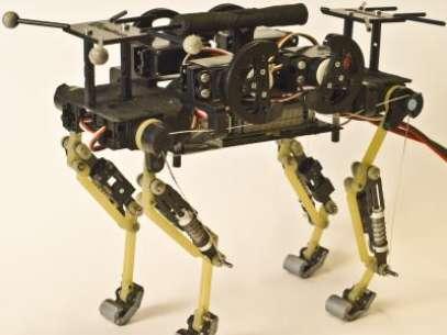 Protótipo do robô 'felino' Foto: Divulgação