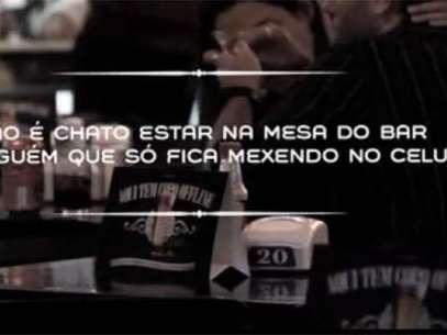 Vídeo foi gravaod no Bar São Jorge Foto: Reprodução
