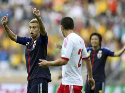 Jogadores japoneses ganharam experiência na disputa da Copa das Confederações Foto: Reuters