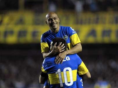 Rodríguez foi eleito o melhor lateral esquerdo da Libertadores 2012 Foto: AFP