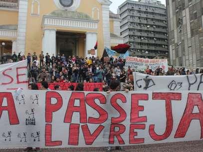 Nos protestos pelo País, uma das demandas foi pela aprovação do passe livre Foto: Fabricio Escandiuzzi / Especial para Terra